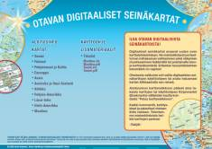 Maantiedon digitaalinen seinäkartastoKoululisenssi opettajille