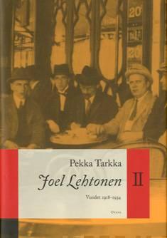 Joel Lehtonen 2vuodet 1918-1934