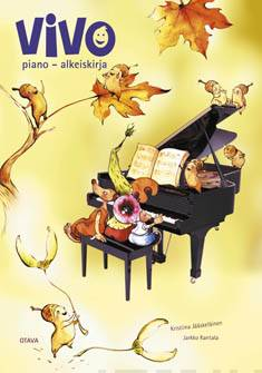 Vivo piano (+cd)alkeiskirja