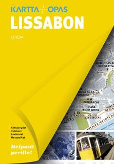 Lissabonkartta + opas