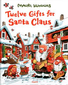 Twelve gifts for Santa Claus
