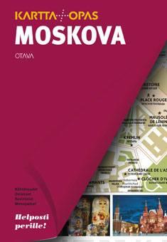 Moskovakartta + opas