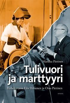 Tulivuori ja marttyyriperhekuvassa Eila Hiltunen ja Otso Pietinen