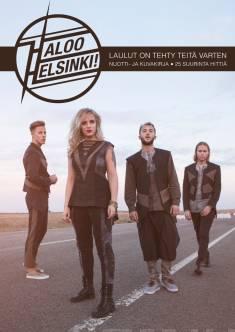 Haloo Helsinki!Laulut on tehty teitä varten : nuotti- ja kuvakirja : 25 suurinta hittiä
