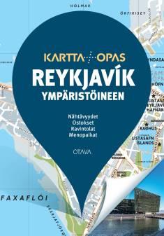 Reykjavík ympäristöineenKartta + opas