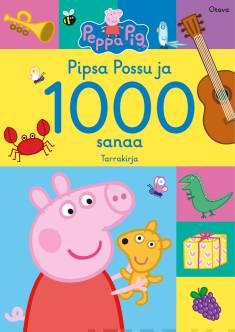 Pipsa Possu ja 1000 sanaaPipsan hieno tarrakirja
