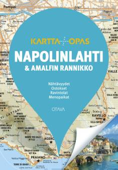 Napolinlahti ja Amalfin rannikkoKartta + opas