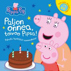 Paljon onnea, toivoo Pipsa!