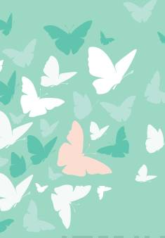 Muistikirja Perhoset