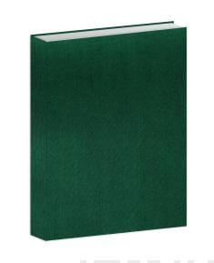 Bujo-muistikirja vihreä kangas