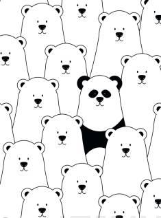 Muistikirja PandaSisus tyhjä