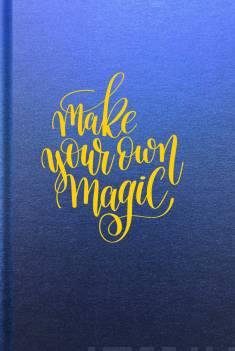 Muistikirja Magic luksusSisus tyhjä