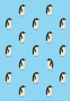 Muistikirja PingviinitSisus pisteet