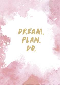 Planner Dream. Plan. Do.