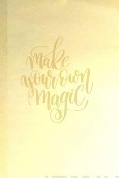 Bujo-muistikirja Magic Gold
