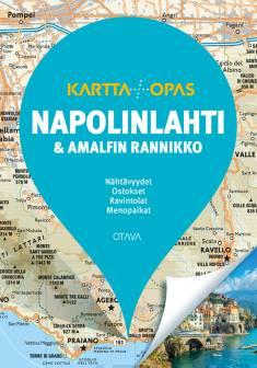 Napolinlahti ja Amalfin rannikkoKartta+Opas