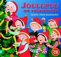 Joulupuu on rakennettulasten omat joululaulut (sis. cd)