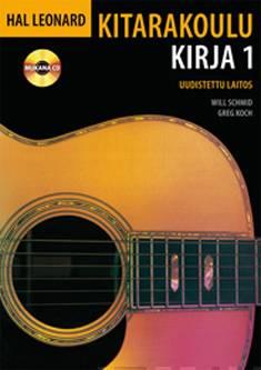 Hal Leonard kitarakoulu 1 (+cd)osa 1